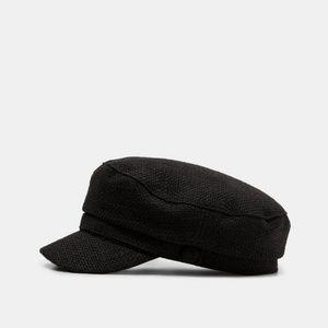 Zara tweed cap